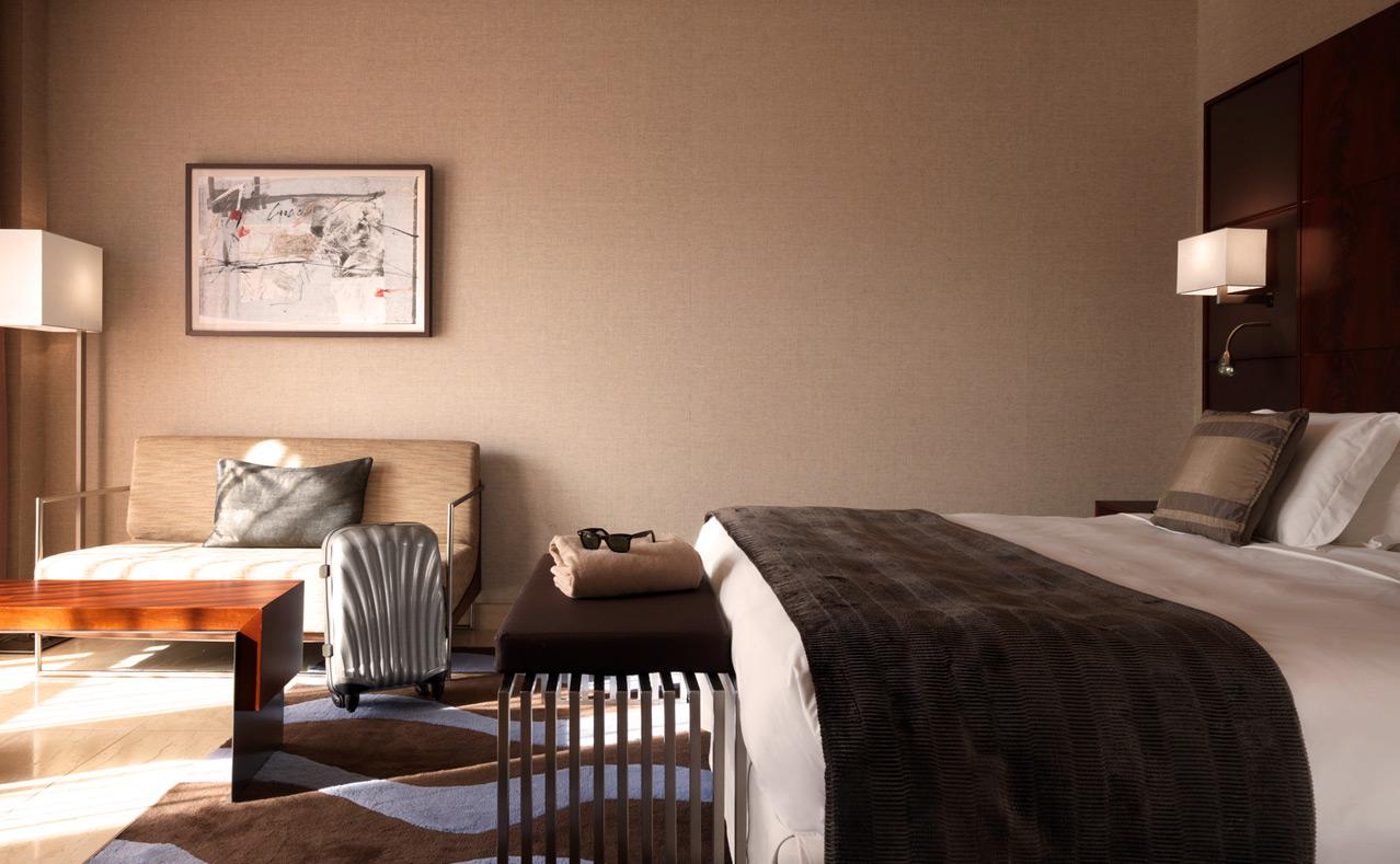 Habitaciones de lujo en barcelona hotel miramar for Hotel barcelona habitacion familiar